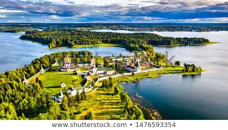 Valday Iversky Monastery, Russia stock photo © borisb17
