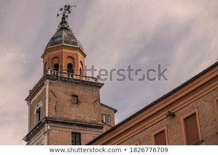 Stadhuis Italië samen verscheidene gemeentelijk kantoren Stockfoto © borisb17