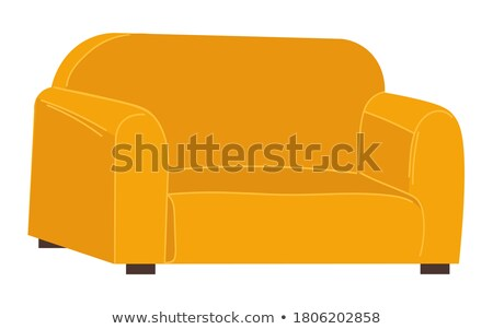 empty soft place color sofa isolated sit vector stock photo © robuart