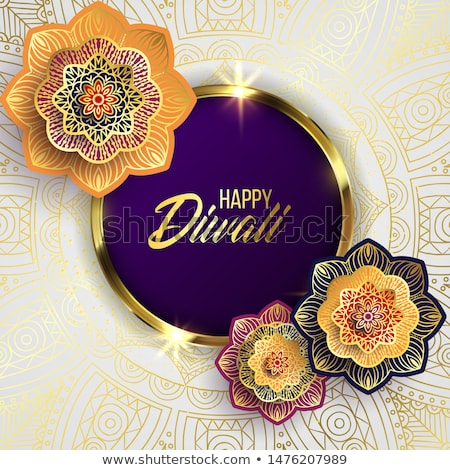 happy dhanteras festival card design in indian style Stock photo © SArts