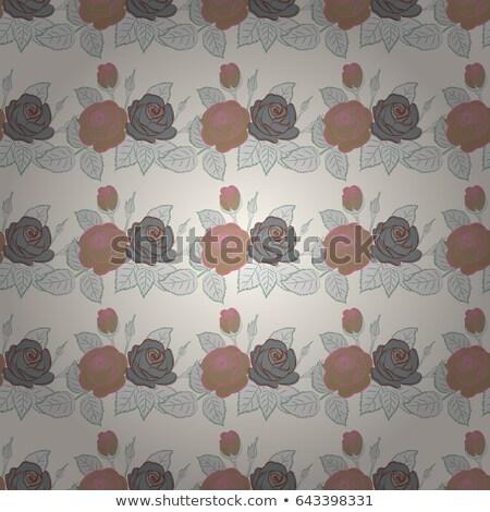 Ingesteld borduurwerk mooie illustratie bloemen Stockfoto © Margolana