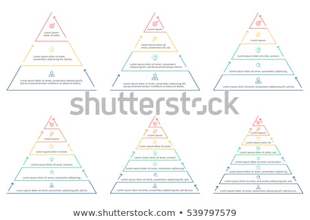 Five Layers Icon Vector Outline Illustration Stock photo © pikepicture
