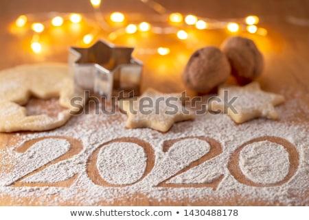 Christmas bakery and New Year`s Eve 2020 Stock photo © joannawnuk
