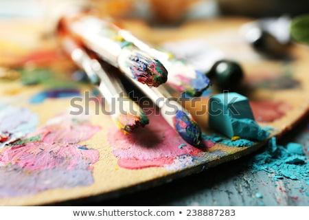 Art Materials Close-up Stock photo © frannyanne