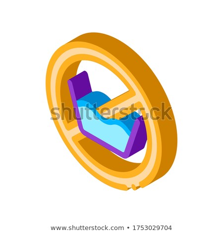 прачечной службе изометрический икона вектора знак Сток-фото © pikepicture