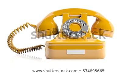 ヴィンテージ · 電話 · 電話 · レトロな - ストックフォト © elly_l