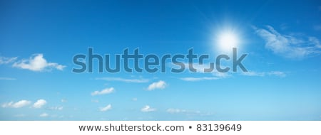 Beautiful noon sky background. Panoramic shot in high resolution Stock photo © moses