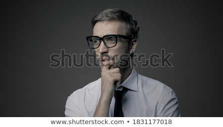 Male With Hand On Chin Stock photo © Stokkete