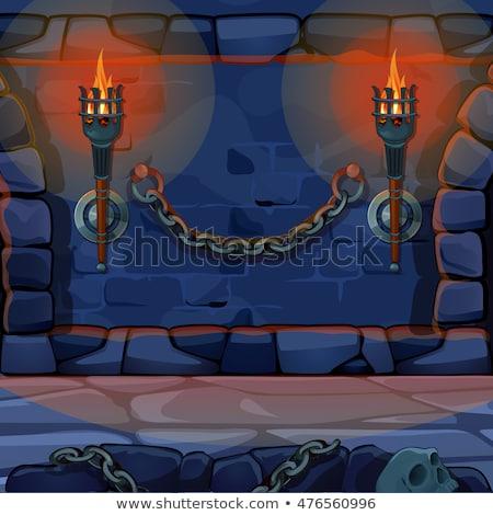 中世 · 壁 · 空 · テクスチャ · 石 · 歴史 - ストックフォト © basel101658