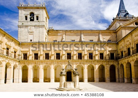 Monastery of Ucles, Castile-La Mancha, Spain Stock photo © phbcz