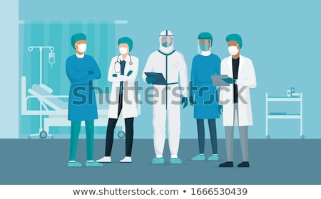 medici · squadra · posa · ospedale · giovani · medico - foto d'archivio © photography33