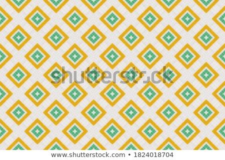 3d render soyut sarı yeşil arka plan sanat Stok fotoğraf © Melvin07