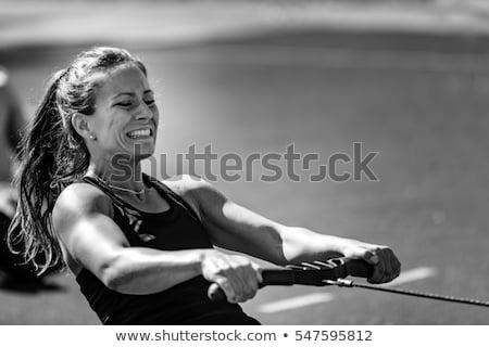 female athlete stock photo © nobilior