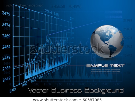 econômico · homem · terno · sessão · tabela - foto stock © bbbar