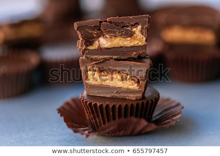 chocolate and peanut butter stock photo © stephaniefrey