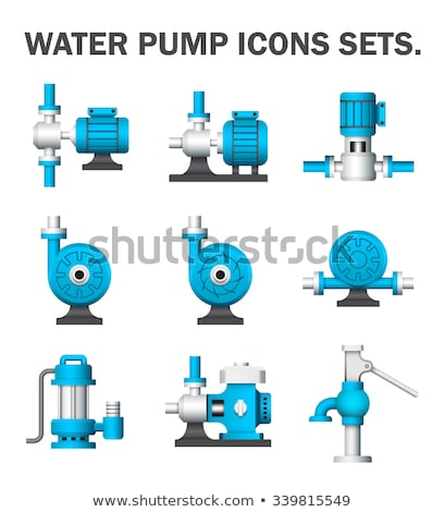 Water pump motor Stock photo © RuslanOmega