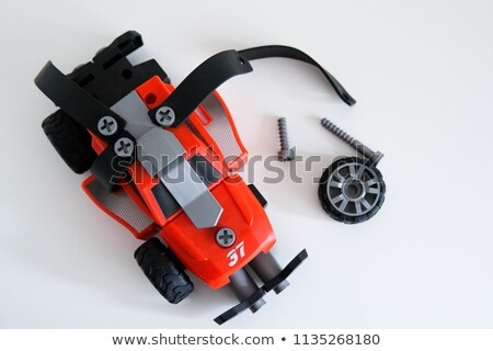 toy car made from meccano stock photo © pzaxe