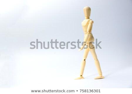 кукла Постоянный рук древесины тело Сток-фото © pterwort