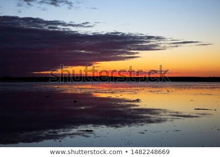 Shallows on a North Country Lake Stock photo © wildnerdpix