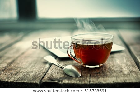 a cozy drink for a cold evening stock photo © lithian