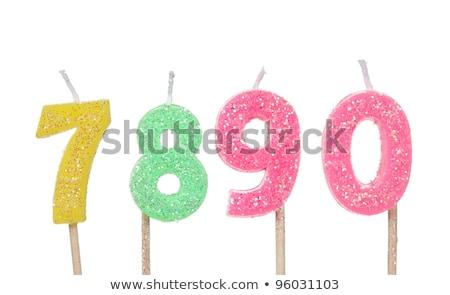 Number Zero Candle Stock photo © iqoncept