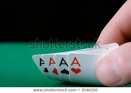 Quatre doigts isolé blanche Photo stock © winterling