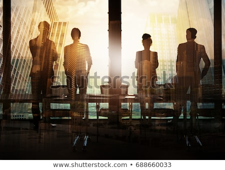 Jövő vezető üzlet sakk játék gyalog Stock fotó © Lightsource