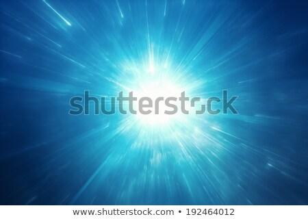 csillag · kitörés · fraktál · absztrakt · örvény · copy · space - stock fotó © kentoh