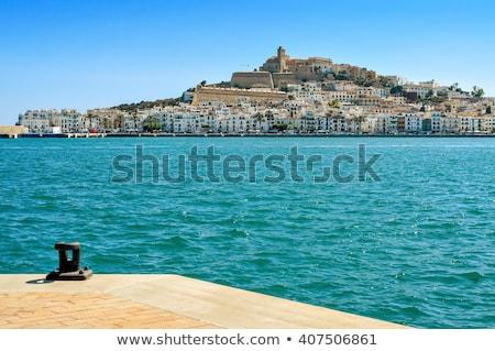 Sa Penya District in Ibiza Town, Balearic Islands, Spain Stock photo © nito