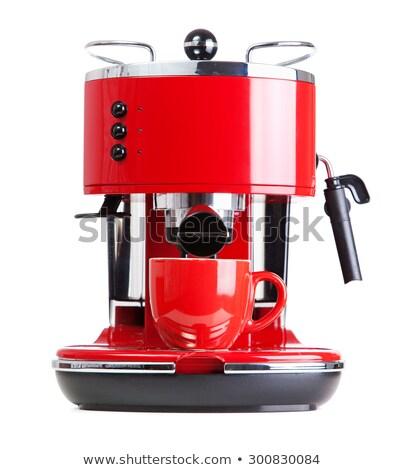retró · stílus · eszpresszó · kávéfőző · kávé · ital · bolt - stock fotó © rohitseth