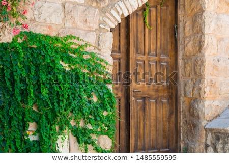 Velho porta Israel Jerusalém rua Foto stock © travelphotography