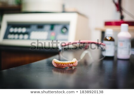 dental crowns, ceramics, furnace Stock photo © mady70