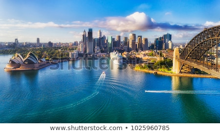 Sydney port Australie Skyline Voyage bâtiments Photo stock © travelphotography