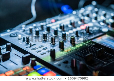 mixing panel stock photo © wellphoto