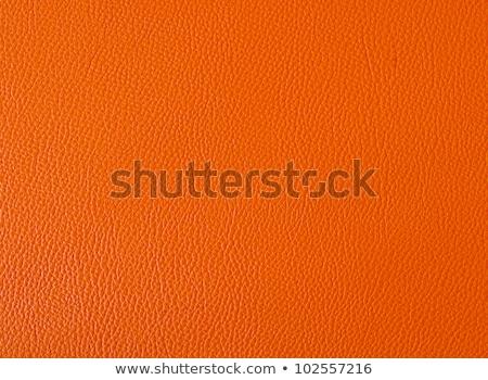 оранжевый · кожа · текстуры · фон - Сток-фото © homydesign