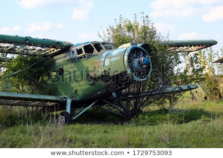 ramshackle airplane Stock photo © nito