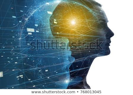 Psychological Concept on Digital Background. Stock photo © tashatuvango