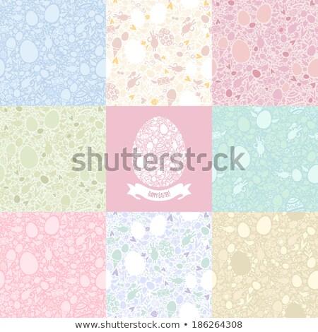 Ocho Pascua pastel símbolos formas Foto stock © Voysla