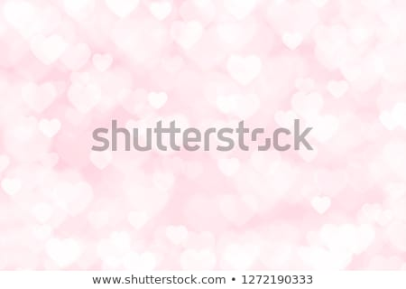beautiful valentines background with abstract color heart stock photo © elmiko