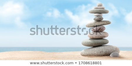 stack stones in perfect balance stock photo © compuinfoto