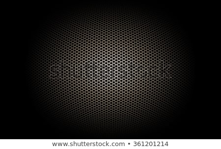 grunge microphone background stock photo © tiero