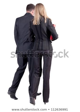 Businesswoman - Backside Stock photo © dgilder
