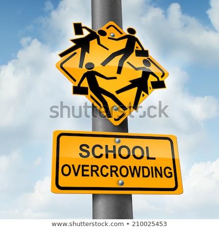 School Overcrowding Stock photo © Lightsource