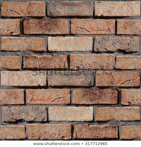 Decorativo arenito parede sem costura textura fundo Foto stock © tashatuvango