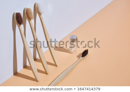 Dental floss and toothbrush Stock photo © njnightsky