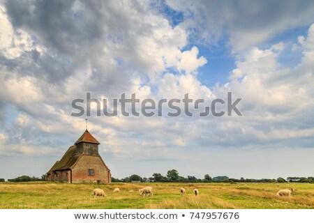 fairfield church stock photo © smartin69