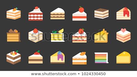 Торт мокко с большим количеством крема с фото