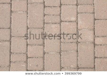 Areia cor calçada sem costura textura Foto stock © tashatuvango