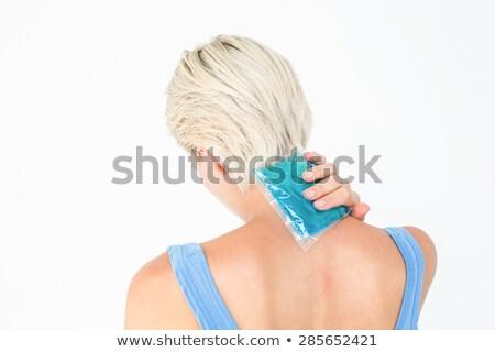 żel opakowanie szyi biały lodu Zdjęcia stock © wavebreak_media
