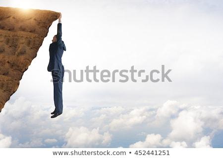 businessman hanging Stock photo © Istanbul2009